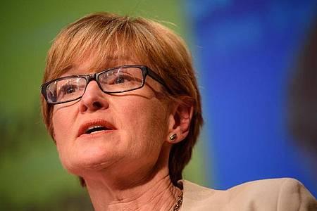 Soll sich künftig um die EU-Finanzmarktpolitik kümmern:Die Vizepräsidentin des Europäischen Parlaments, Mairead McGuinness. Foto: picture alliance / dpa