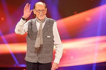 Herbert Köfer wird in wenigen Tagen 100. Foto: Jan Woitas/dpa-Zentralbild/dpa