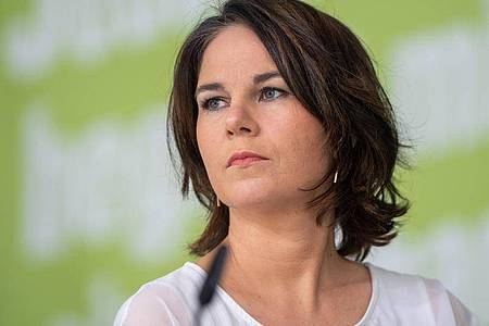 Annalena Baerbock ist Kanzlerkandidatin der Grünen. Foto: Christophe Gateau/dpa