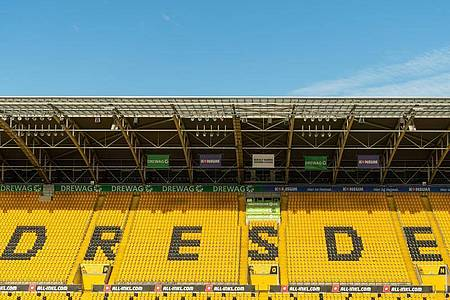 Bei Zweitliga-Schlusslicht Dynamo Dresden gab es erneut einen positiven Corona-Fall. Foto: Robert Michael/dpa-Zentralbild/dpa