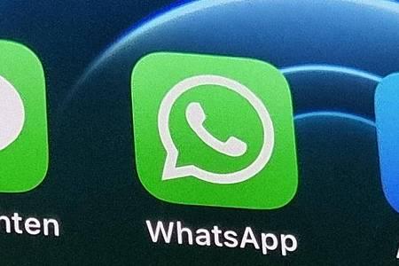 Bei Whatsapp gibt es nun die Möglichkeit, Fotos und Videos zum einmaligen Anschauen zu versenden. Foto: Christoph Dernbach/dpa/dpa-tmn