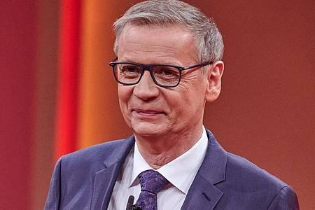 Weiterhin außer Gefecht:Günther Jauch. Foto: Henning Kaiser/dpa