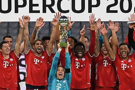 Bayern München setzt gegen Borussia Dortmund seinen Siegeszug fort. Foto: Sven Hoppe/dpa-Pool/dpa