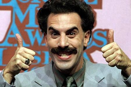 «Borat»-Darsteller Sacha Baron Cohen heizt neue Gerüchte über eine Fortsetzung an. Foto: Andre Kosters/LUSA/dpa
