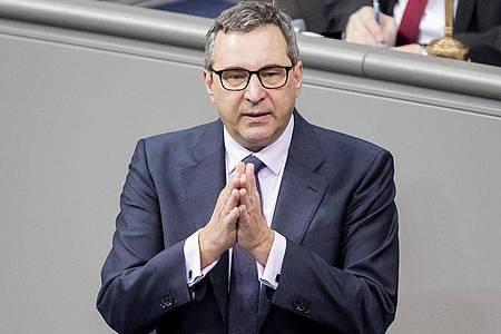 Joachim Pfeiffer (CDU), Abgeordneter aus Baden-Württemberg, zieht sich aus dem Bundestag zurück. Foto: Christoph Soeder/dpa