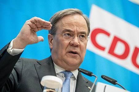 Armin Laschet, CDU-Bundesvorsitzender und Ministerpräsident von Nordrhein-Westfalen. Foto: Michael Kappeler/dpa