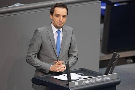 Benjamin Strasser (FDP): Charakter der AfD bleibt rechtsextrem. Foto: Christophe Gateau/dpa