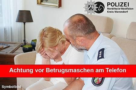 Achtung vor Betrug am Telefon!