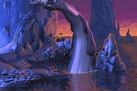 Zu viel soll nicht verraten werden. Aber «The Dig» erzählt eine spannende Geschichte von fremden Welten und ob wir da draußen im Weltall wirklich allein sind. Foto: Lucasarts/dpa-tmn