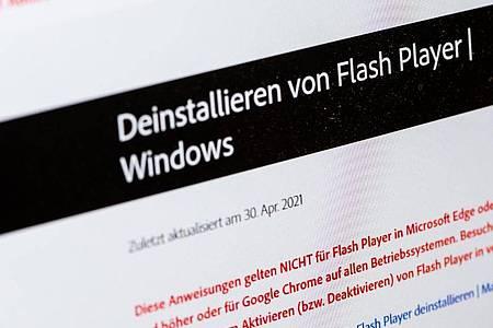 Sowohl für Windows als auch für MacOs steht ein Deinstallationstool bei Adobe bereit. Foto: Franziska Gabbert/dpa-tmn