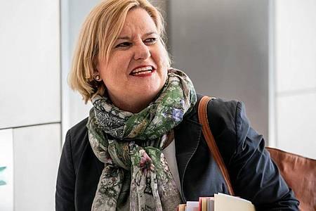 Eva Högl (SPD) soll neue Wehrbeauftragte des Deutschen Bundestags werden. Foto: Michael Kappeler/dpa