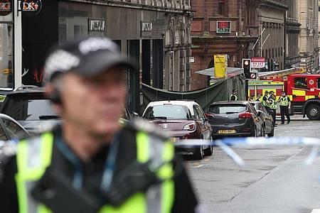 Nach der Messerattacke in Glasgow hat die Polizei den Täter identifiziert. Foto: Andrew Milligan/PA Wire/dpa