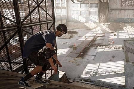Neue Grafik: «Tony Hawk?s Pro Skater 1+2» spielt sich so gut wie das Original - sieht aber deutlich besser aus. Foto: Activision/dpa-tmn