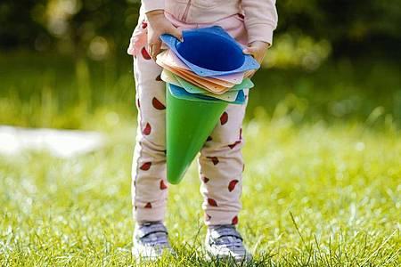 Die Lebenszufriedenheit deutscher Kinder ist einer Unicef-Studie zufolge geringer als in anderen Industrieländern. Foto: Uwe Anspach/dpa