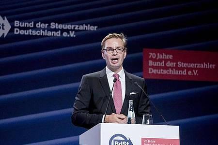 Reiner Holznagel lobbyiert gegen die EU-Aufbaupläne. Foto: Christoph Soeder/dpa