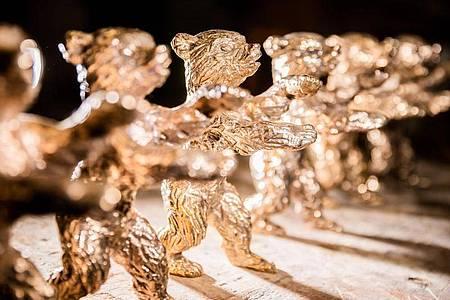 Wer gewinnt den Goldenen Bären?Auch mehrere deutsche Produktionen sind im Rennen. Foto: Christoph Soeder/dpa