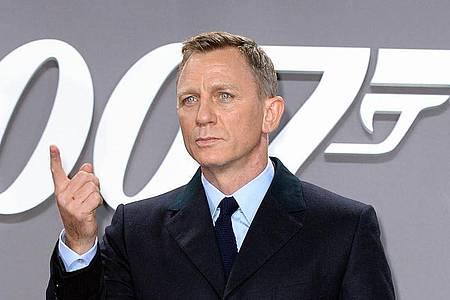 Das lange Warten hat ein Ende. Der letzte 007-Einsatz von Daniel Craig kommt ins Kino. Foto: Britta Pedersen/dpa