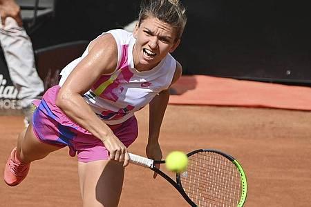 Die Weltranglisten-Zweite Simona Halep hat das Tennis-Turnier in Rom gewonnen. Foto: Alfredo Falcone/LaPresse/dpa