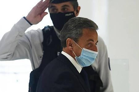 Nicolas Sarkozy, ehemaliger Präsident von Frankreich. Foto: Michel Euler/AP/dpa