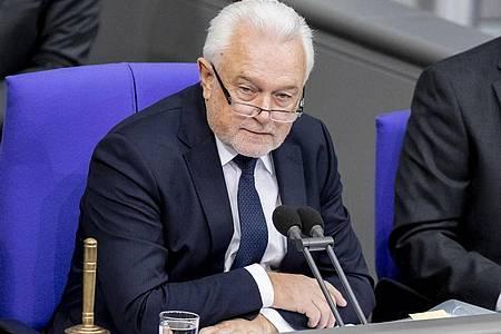 Bundestagsvizepräsident Wolfgang Kubicki. Foto: Christoph Soeder/dpa