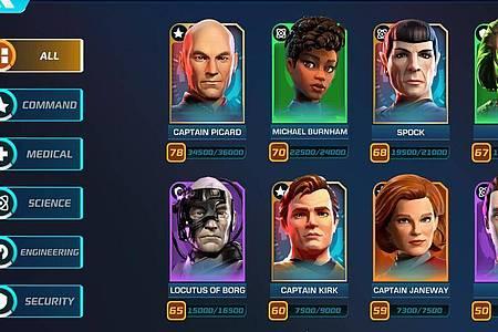 Viele bekannte und beliebte Gesichter aus allen möglichen «Star Trek»-Serien tauchen in «Star Trek:Legends» auf. Foto: Tilting Point/dpa-tmn