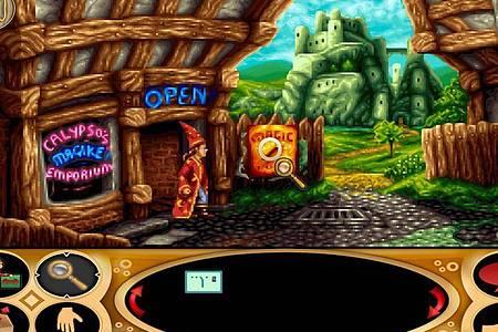 «Simon the Sorcerer» versetzt Spielerinnen und Spieler in eine lustige Welt voller seltsamer Wesen. Foto: Mojo Touch/dpa-tmn