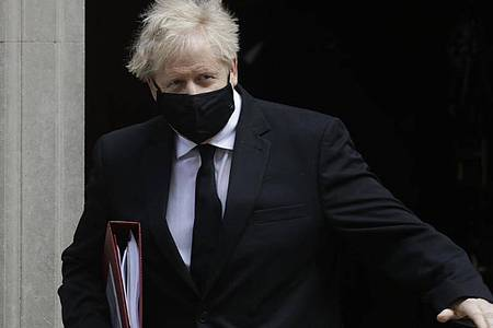 «Wir haben nicht den Export einer einzigen Impfdosis oder von Impfstoffbestandteilen verhindert»: Premierminister Boris Johnson. Foto: Kirsty Wigglesworth/AP/dpa