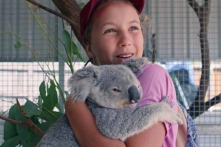 Izzy Bee hat ein Herz für Koalas. Foto: Netflix/dpa