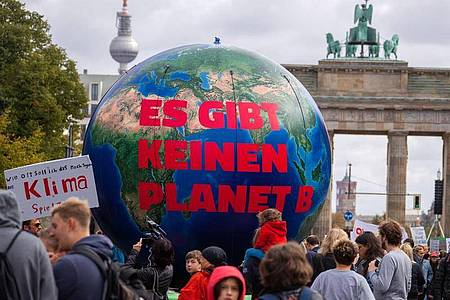 Eine Demonstration von Fridays for Future imSeptember 2019 in Berlin. Foto: Jens Büttner/zb/dpa