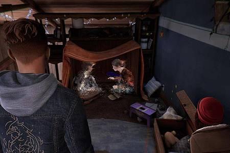 Was ist wirklich passiert?Solche interaktiven Rückblenden sind eines der Hauptelemente von «Tell Me Why». Foto: Xbox Game Studios/Dontnod Entertainment/dpa-tmn