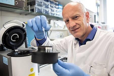 Ulf Dittmer ist Leiter des Instituts für Virologie der Universitätsklinik Essen. Foto: Bernd Thissen/dpa