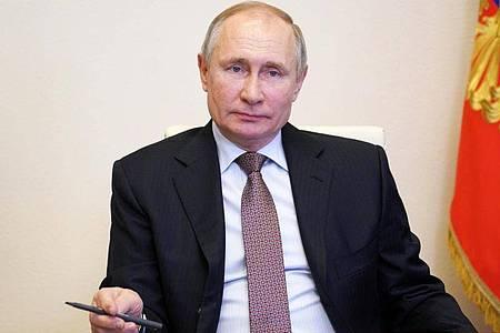 Die Weichen Richtung Machterhalt sind gestellt: Russlands Staatspräsident Wladimir Putin. Foto: Alexei Druzhinin/Pool Sputnik Kremlin/AP/dpa