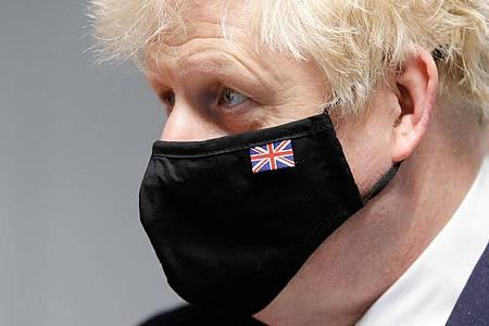 Will das Champions-League-Finale nach England holen: Premierminister Boris Johnson. Foto: Phil Noble/PA Wire/dpa