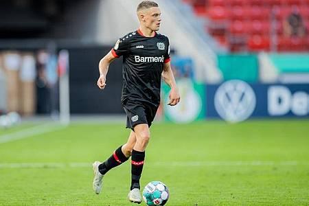 Der Leverkusener Florian Wirtz könnte der bislang jüngste deutsche U21-Nationalspieler werden. Foto: Rolf Vennenbernd/dpa