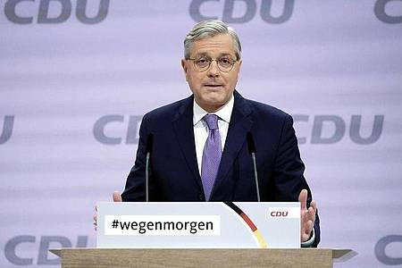 Norbert Röttgen (CDU) ist Teil der Initiative, die einen Vorstoß gewagt hat, um dem Bund während der Corona-Pandemie, mehr Kompetenzen einzuräumen. Foto: Michael Kappeler/dpa