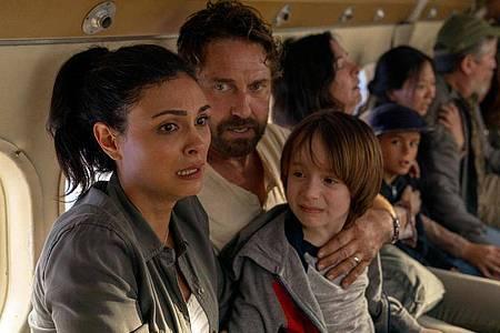 John Garrity (Gerard Butler) kämpft mit seiner Familie ums Überleben. Foto: Daniel Mcfadden/TOBIS Film GmbH/dpa