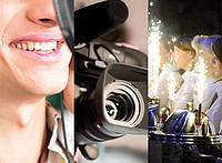Collage aus Motiven für Audio, Video, Event