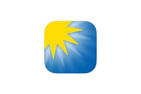 Der App «WeatherPro» (0,99 Euro), kann man Wettervorhersagen, Unwetterwarnungen und die aktuelle Windstärke entnehmen. Foto: App Store von Apple/dpa-infocom