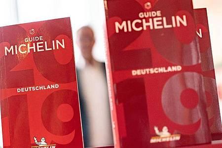 Digitale Verleihung 2021: neue Michelin-Sterne vergeben. Foto: Frank Rumpenhorst/dpa