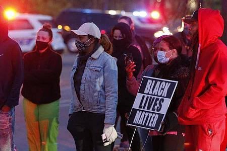Nach Bekanntwerden des Falls gab es in Columbus im US-Bundesstaat Ohio kleinere Proteste. Foto: Jay Laprete/AP/dpa