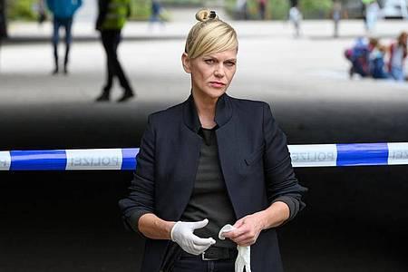 Helen Dorn (Anna Loos) ermittelt wieder - jetzt in Hamburg. Foto: Georges Pauly/ZDF/dpa