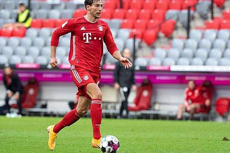Der FC Bayern München setzt gegen den BVB auf Leon Goretzka. Foto: Matthias Balk/dpa-Pool/dpa