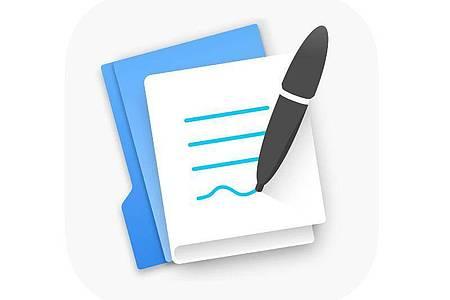 Schnell noch ein paar Notizen gemacht: Mit «Good Notes 5» lassen sich handschriftliche Aufzeichnungen speichern und teilen. Foto: App Store von Apple/dpa-infocom