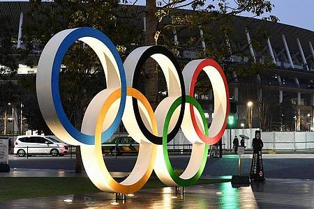 Die Olympischen Spiele in Tokio sollen nun vom 23. Juli bis zum 8. August 2021 stattfinden. Foto: -/kyodo/dpa