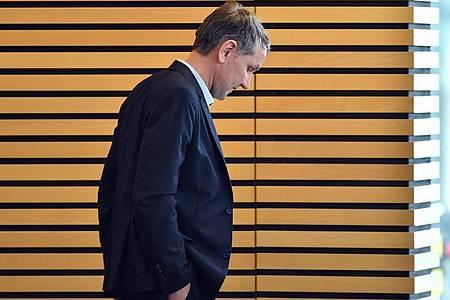 Björn Höcke Anfang März im Plenarsaal des Thüringer Landtages inErfurt. Foto: Martin Schutt/dpa-Zentralbild/dpa