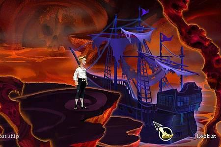 Das ist Guybrush Threpwood, ein angehender Pirat. In «The Secret of Monkey Island» muss er sich mit allerlei lebenden und untoten Wesen herumschlagen. Foto: Lucasarts/dpa-tmn