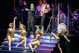 Bühnenszene aus Falco das Musical