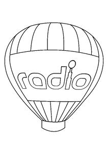 Der große Radio-Ballon