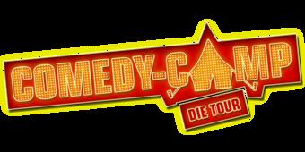Comedy-Camp Schriftzug