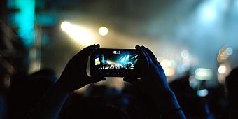Konzert filmen mit dem Smartphone